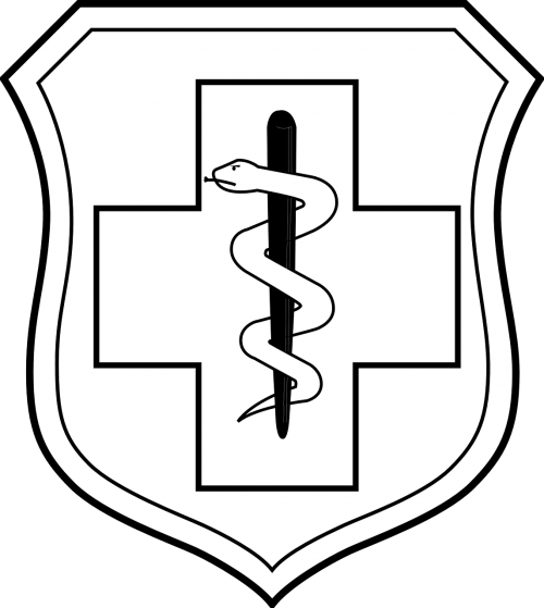 badge shield cross