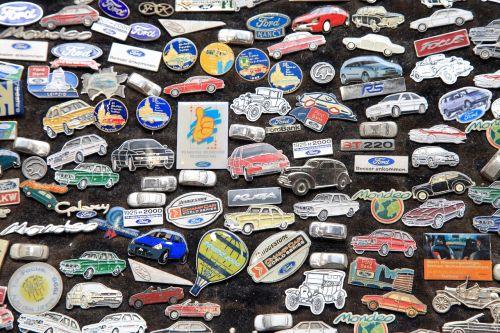 badge pins car badge