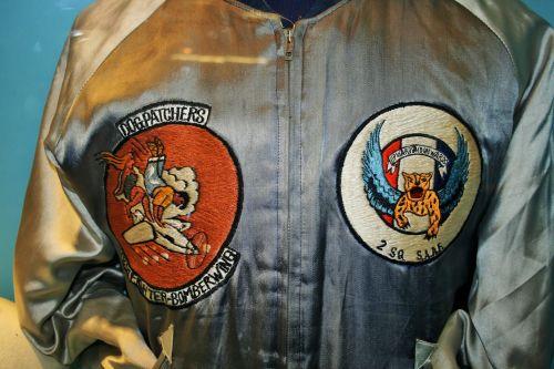 Badges On Flying Jacket