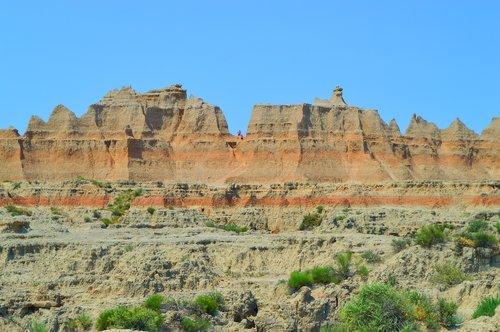 badlands  hills  sandy rocks