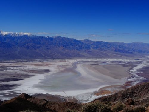 badwater view of dante death valley