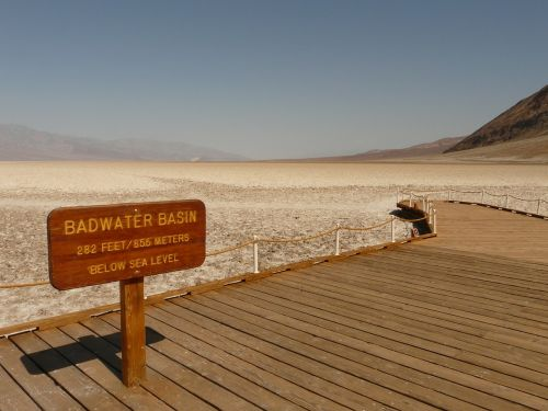 badwater badwater basin salt pan