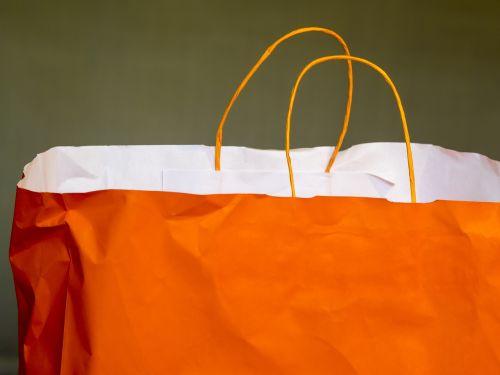 bag purchasing shopping bag
