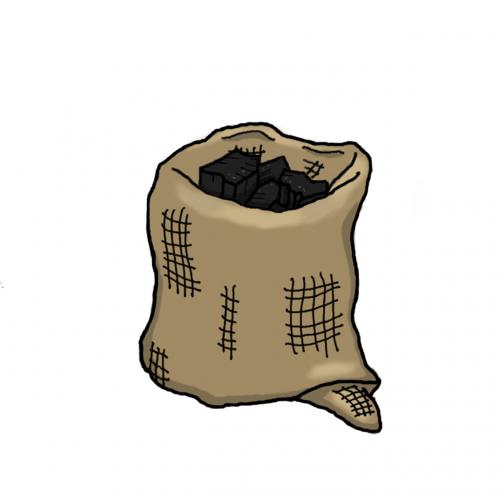 bag jute bag carbon