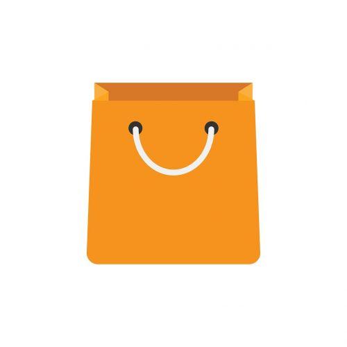 bag market isolated