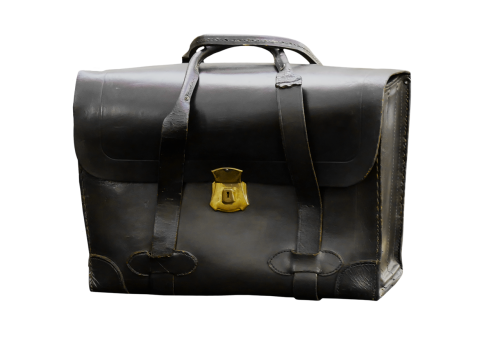 bag briefcase leather