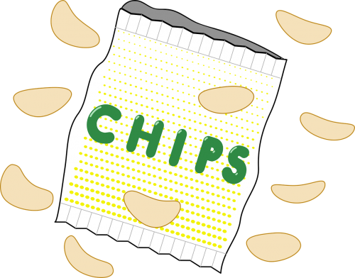 bag chips crisps