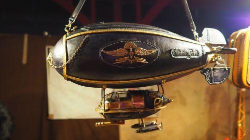 bag zeppelin steampunk
