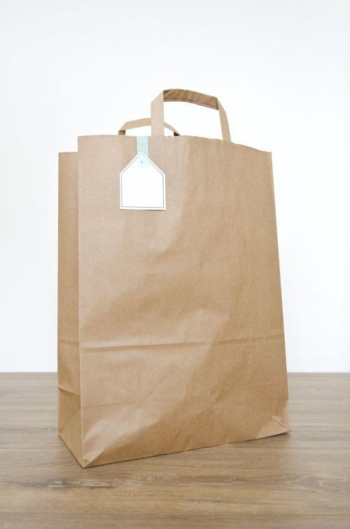 bag paper bag brown paper bag