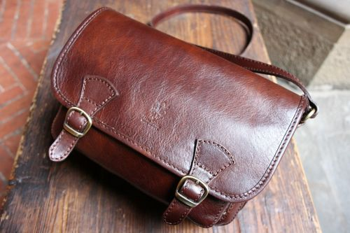bag leather testa di moro