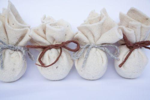 bag felt sheep's wool