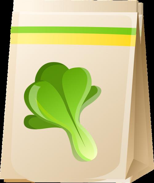 bag seeds food