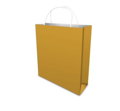 bag shopping green