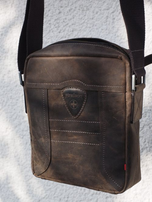 bag leather case leather