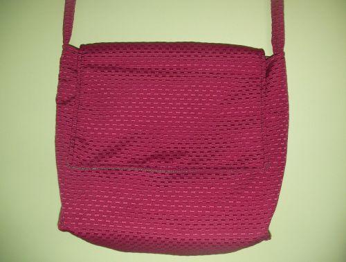 bag handbag red