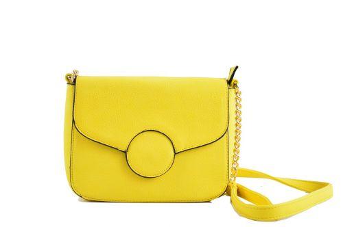 bag yellow fashion bag shoulder bag