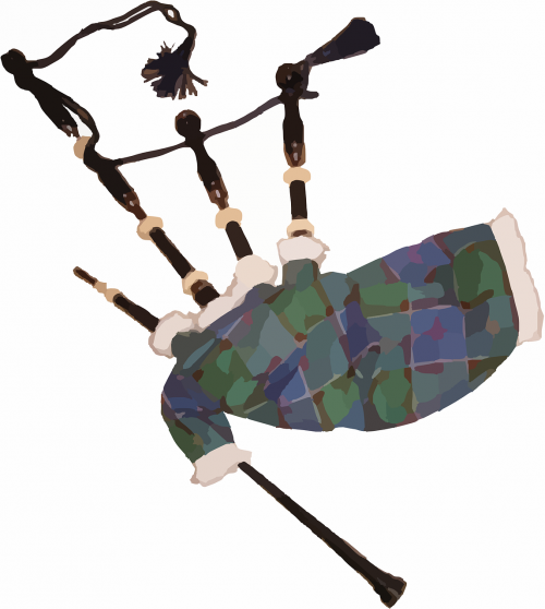 bagpipe uilleann pipes doodle