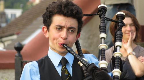 bagpipes scotland young people