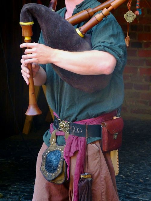 bagpipes music musician