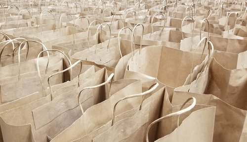 bags  paper  shopping