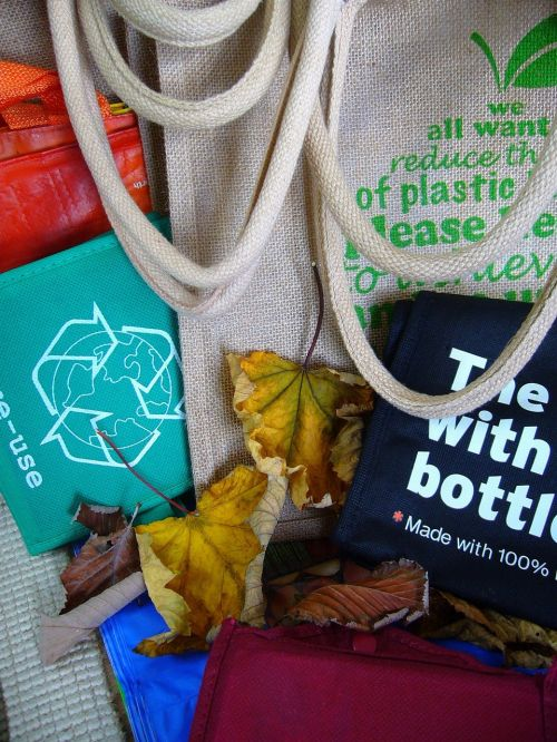 bags reuse recycling