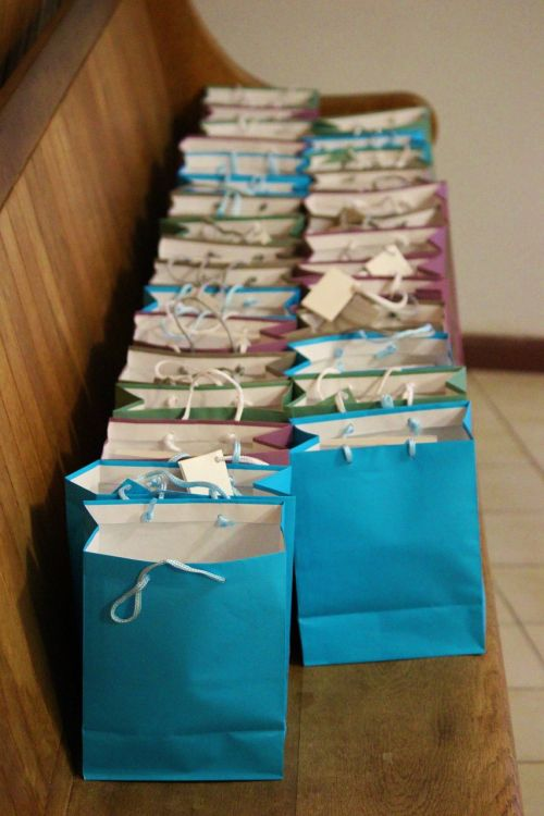 bags gifts colorful
