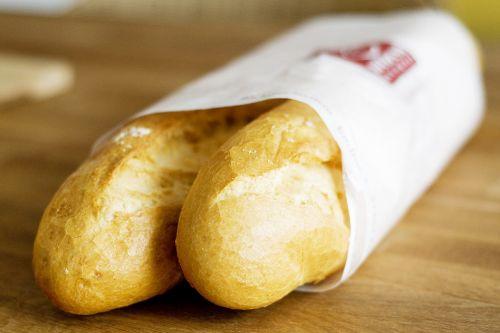 baguette breakfast food