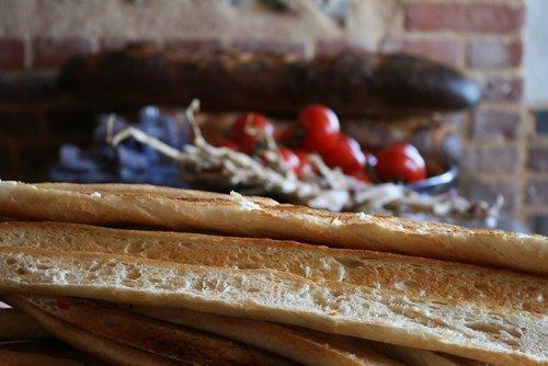 baguette  bread  eat