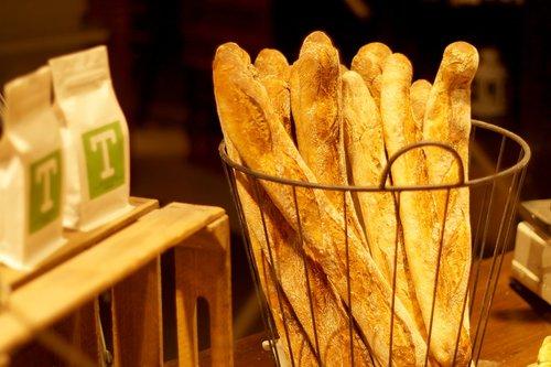 baguette  muffin  bakery
