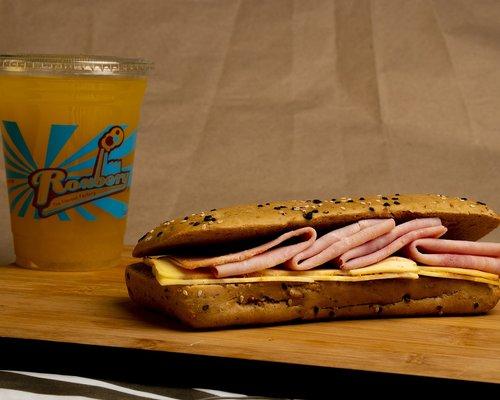 baguette  juice  food