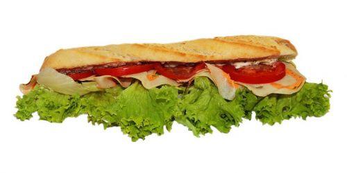 baguette sandwich snack