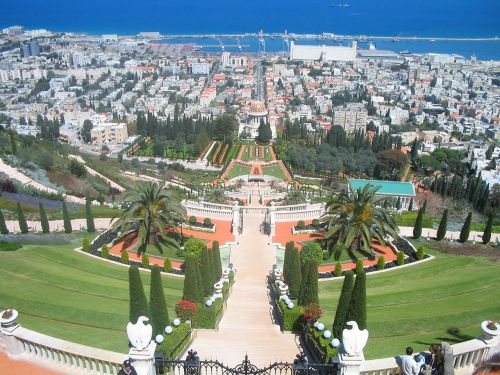 baha'i gardens haifa