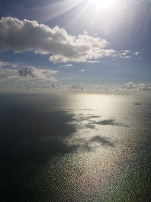 bahamas ocean clouds