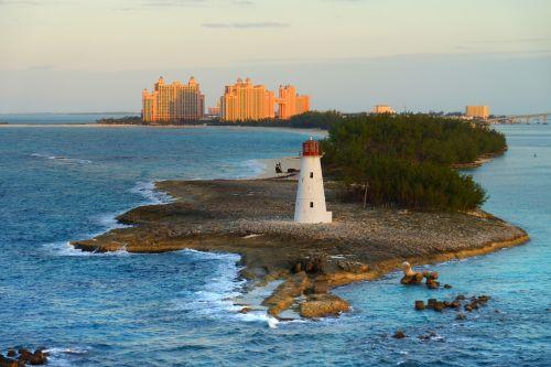 bahamas lighthouse caribbean