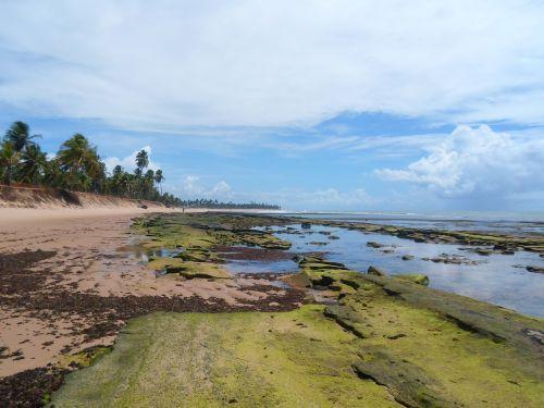 bahia deserted beach strong beach
