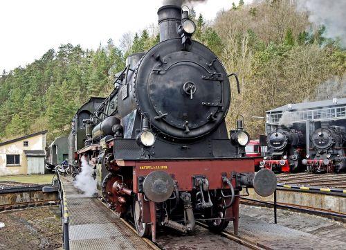 bahnbetriebswerk hub locomotive shed