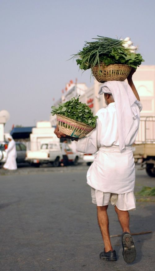 bahrain vegetables man