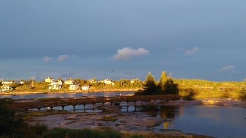 Johan-Beetz Bay In Late Afternoon
