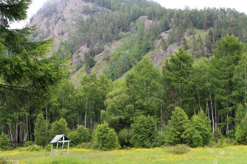 baikal russia mountains
