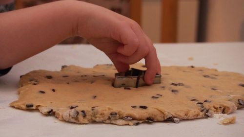 bake cookie dough