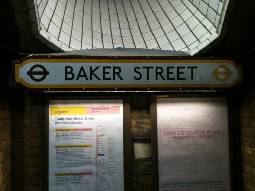 Baker Street Signage