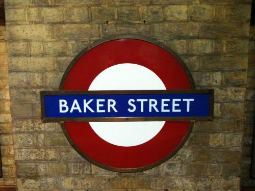 Baker Street Underground Sign