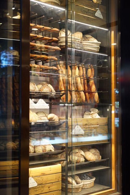 bakery display cases glass