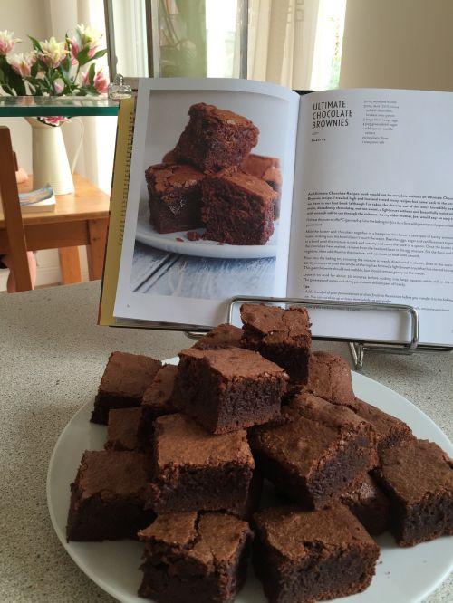 baking brownies ca