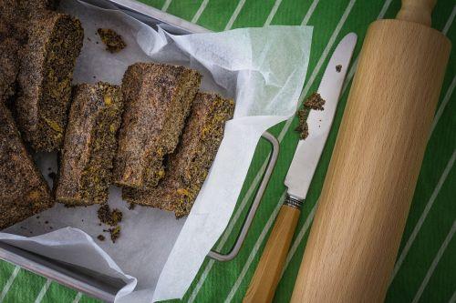 baking cake chia seeds