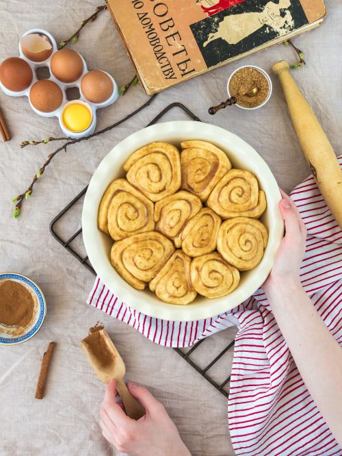 baking cooking buns