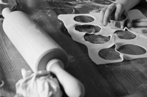 Baking - Black And White