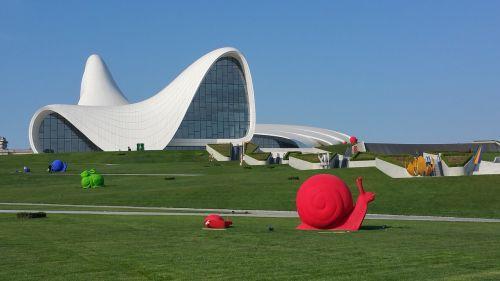 baku azerbaijan haliyev center