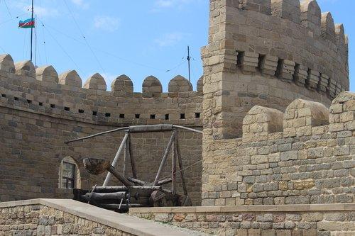 baku  azerbaijan  girl's castle