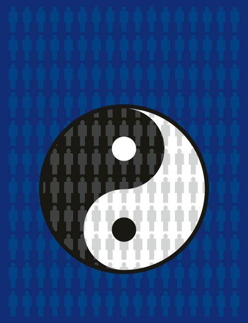 balance karma yin yang